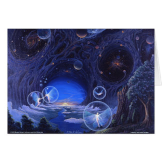 Dance of the Planet Tenders Greeting Card