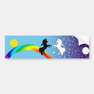 Dance of the unicorns bumper sticker