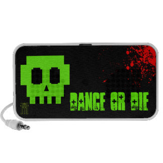 Dance or Die Notebook Speaker