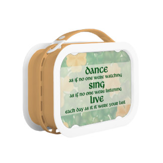 Dance, Sing, Live Lunch Box