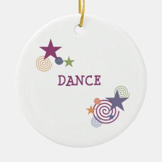 Dance Swirl Christmas Ornament