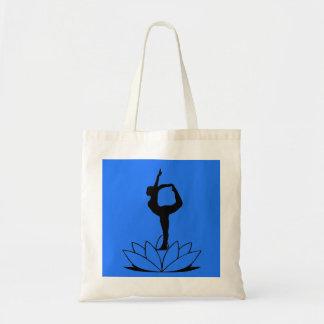 Dancer Pose - Yoga Tote Bag