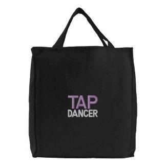 DANCER, TAP CANVAS BAGS