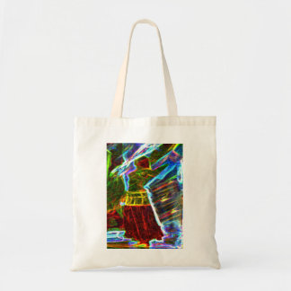 Dancer with veil tote bag