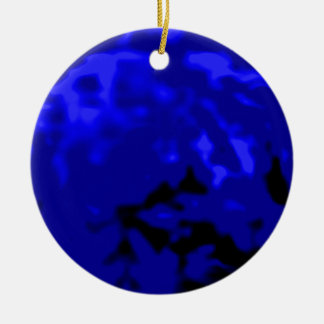 Dancing Ball Blue Cyan Trans MUSEUM Zazzle Gifts Ornaments