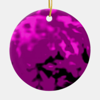 Dancing Ball Purple Silver Tra MUSEUM Zazzle Gifts Christmas Tree Ornaments