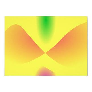 Dancing Cactus 13 Cm X 18 Cm Invitation Card