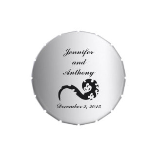Dancing Dragon Wedding Favor Jelly Belly Candy Tins