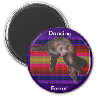 Dancing Ferret Magnet