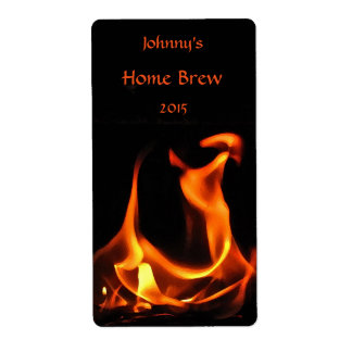 Dancing Fire Beer Label