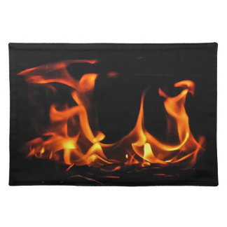 Dancing Fire Cloth Placemat