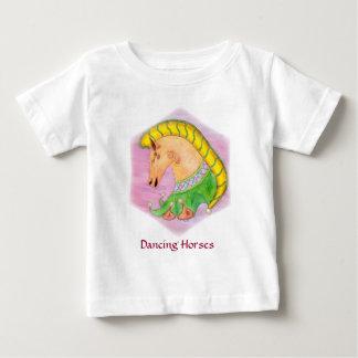 Dancing Horses Baby T-Shirt