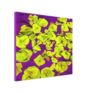 Dancing Lillys - Art On Canvas