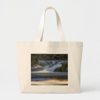 Dancing on the Water Large Tote Bag