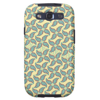 Dancing Paisley Vintage Flower Pattern Galaxy S3 Covers