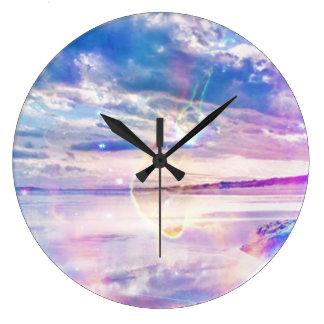 Dancing Sea Large Clock