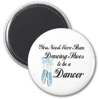Dancing Shoes 6 Cm Round Magnet