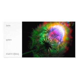 Dandelion Customized Photo Card