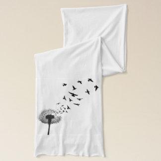 Dandelion Dove Pattern Scarf