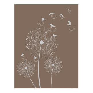 Dandelion Seed Thieves Postcard
