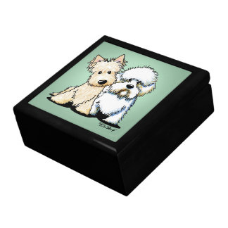 Dandie Scottie Terriers Gift Box