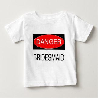 Danger - Bridesmaid Funny Wedding T-Shirt Mug Hat