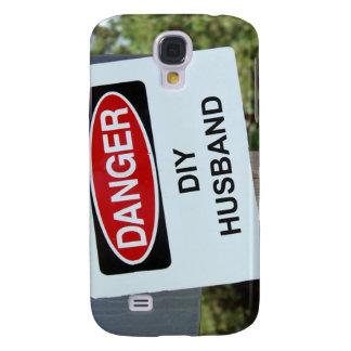 Danger DIY Husband sign Galaxy S4 Case