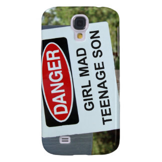 Danger Girl Mad Teenage Son Sign Galaxy S4 Case
