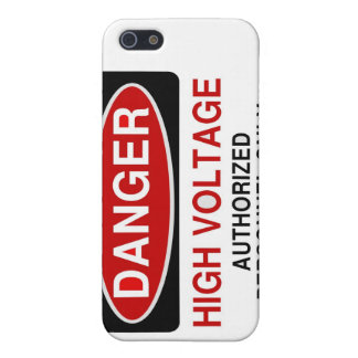 Danger High Voltage Case For The iPhone 5
