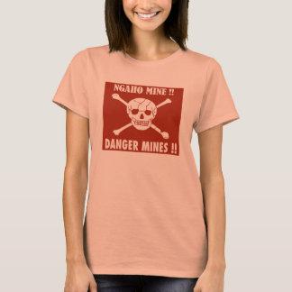 Danger Mines Sign, Burundi T-Shirt