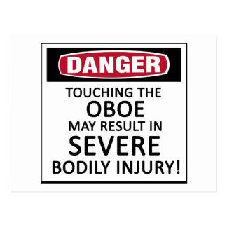 Danger Oboe Postcard
