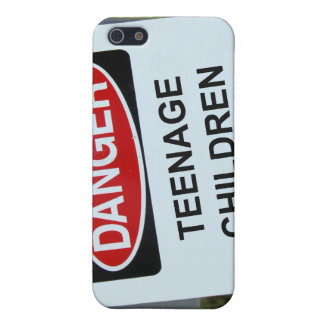 Danger Sign Teenage Children iPhone 5 Cases