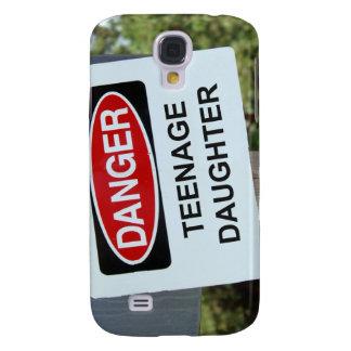 Danger Teenage Daughter Sign Galaxy S4 Case