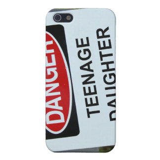 Danger Teenage Daughter Sign iPhone 5 Cases
