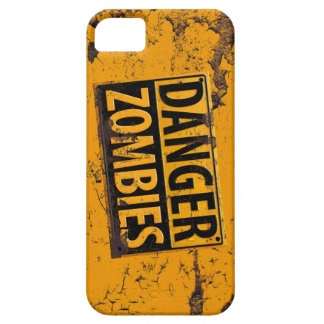 Danger : Zombie Warning Sign [iPhone] iPhone 5 Cases