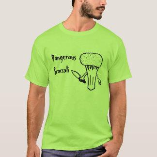 Dangerous Broccoli T-Shirt