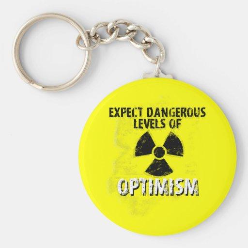 dangerous Optimism Keychain