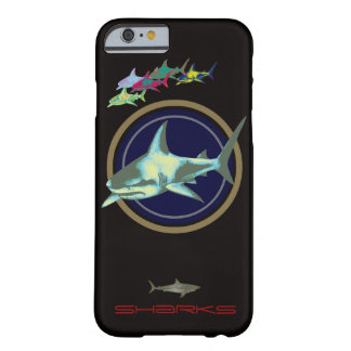 dangerous sharks barely there iPhone 6 case