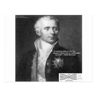 Daniel Bernoulli True Physics Quote Gifts & Cards
