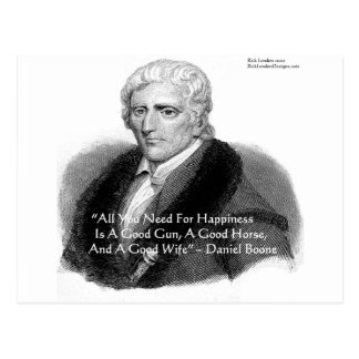 Daniel Boone Humor Quote Gifts Tees Cards Etc