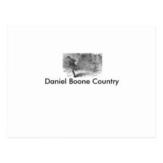 Daniel Boone Post Card