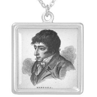 Daniel Mendoza Silver Plated Necklace