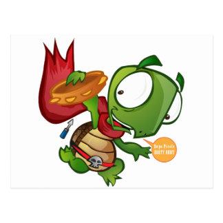 Daniel The Turtle Postcard