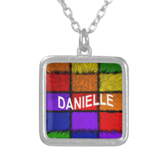 DANIELLE SILVER PLATED NECKLACE