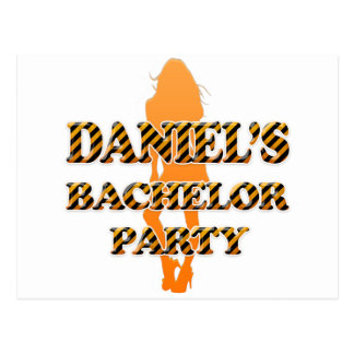 Daniel's Bachelor Party Postcard