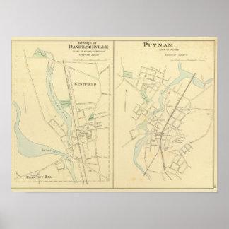 Danielsonville, Putnam Poster