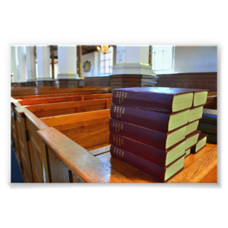 Danish Hymn Books Photo Print