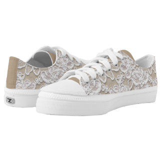 Dantel  Low Top Shoes Printed Shoes