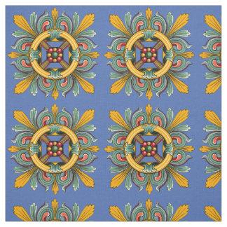 Danube Victorian Tile Design Fabric