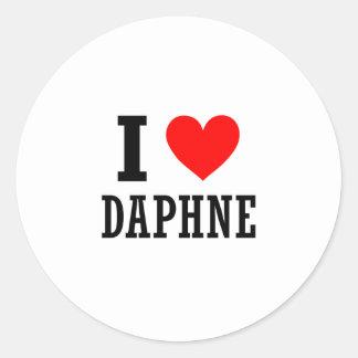 Daphne, Alabama Classic Round Sticker